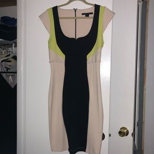 French Connection knee length sheath dress